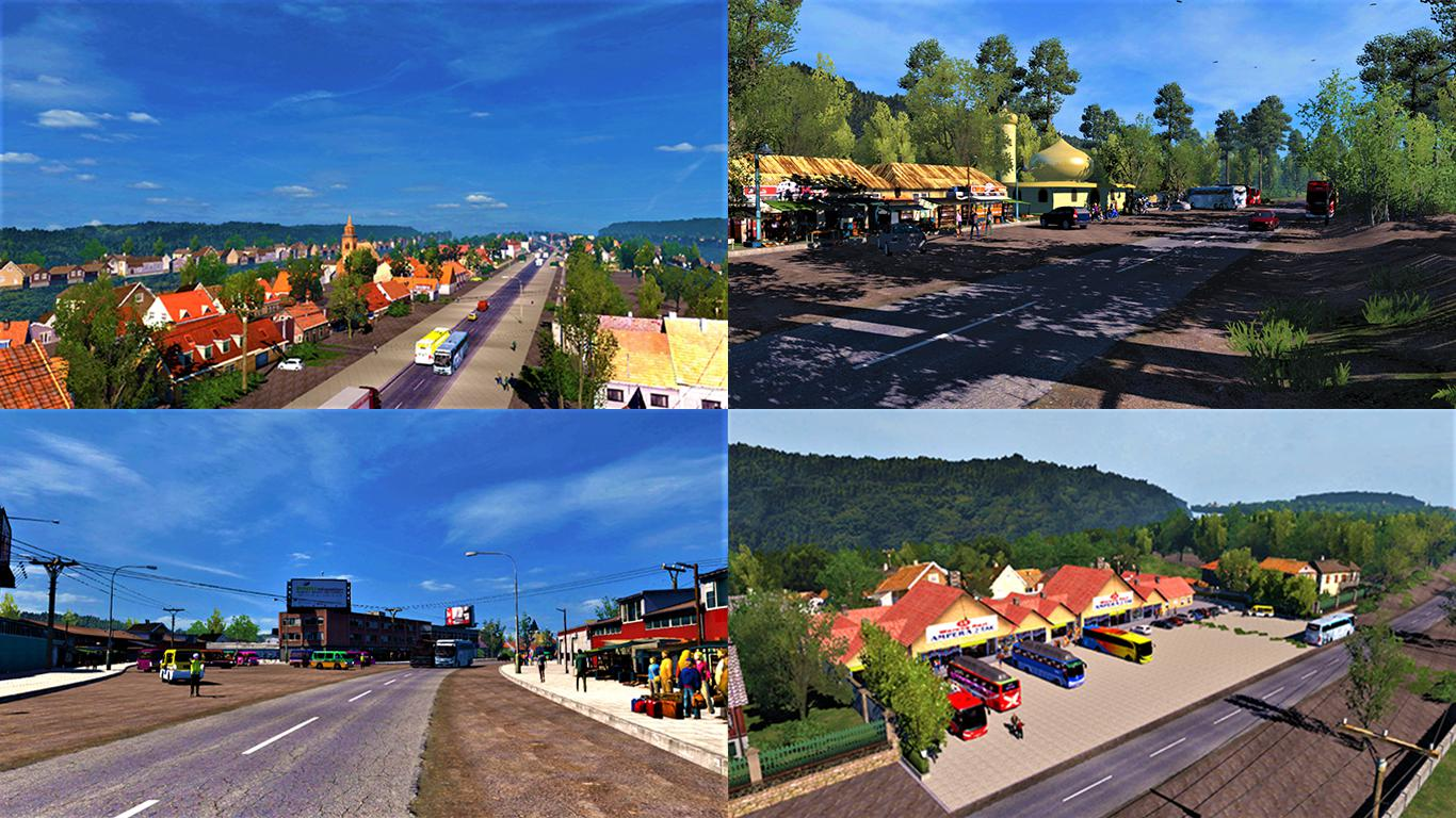 ETS2 - ICRF Reworked Map (1.35.x)