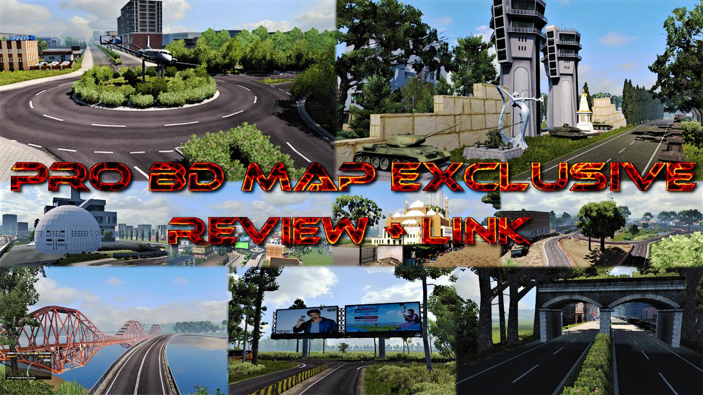 ETS2 - Bangladesh Exclusive Map V1.2 (1.35.x)
