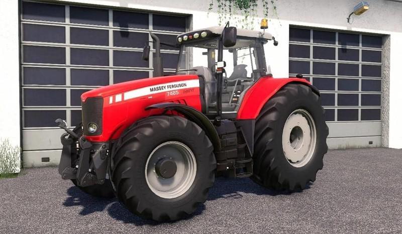 FS19 - Massey Ferguson 7400 Tractor V2.0