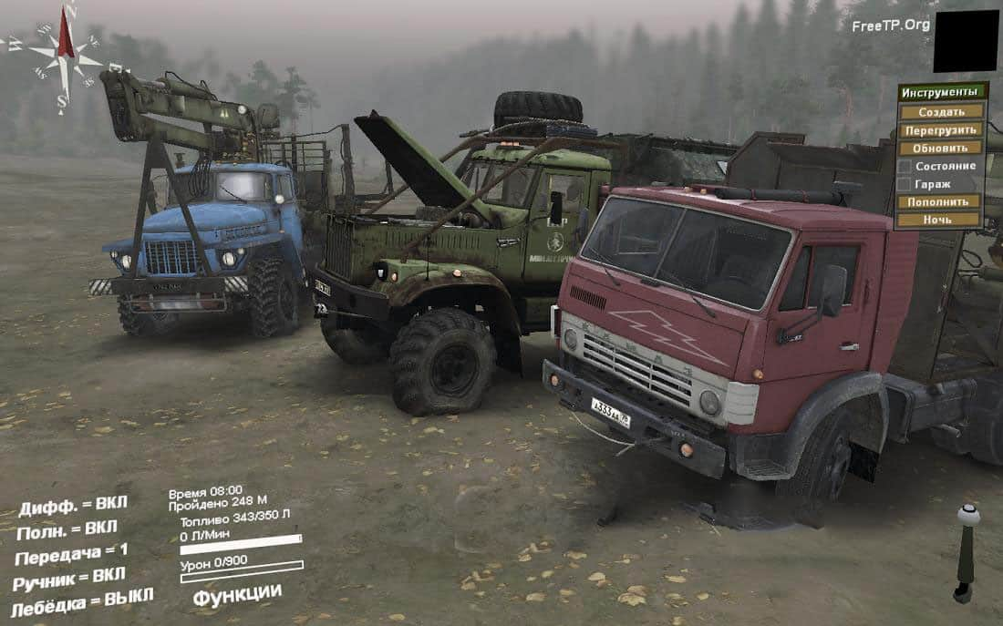 Spintires - Default Replacement Pack V1.0