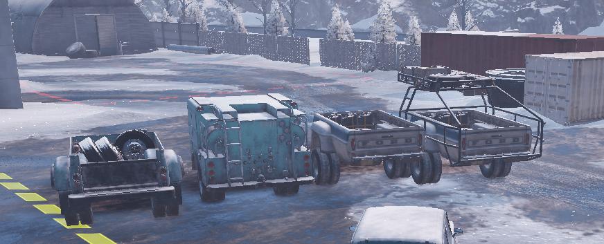 SnowRunner - Truck Bed Trailers V1.0