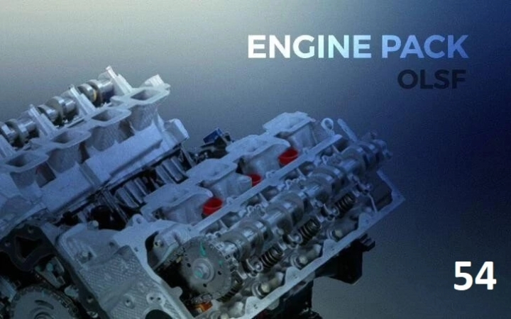 ETS2 - Engines Pack 54 for All Trucks (1.40.x)