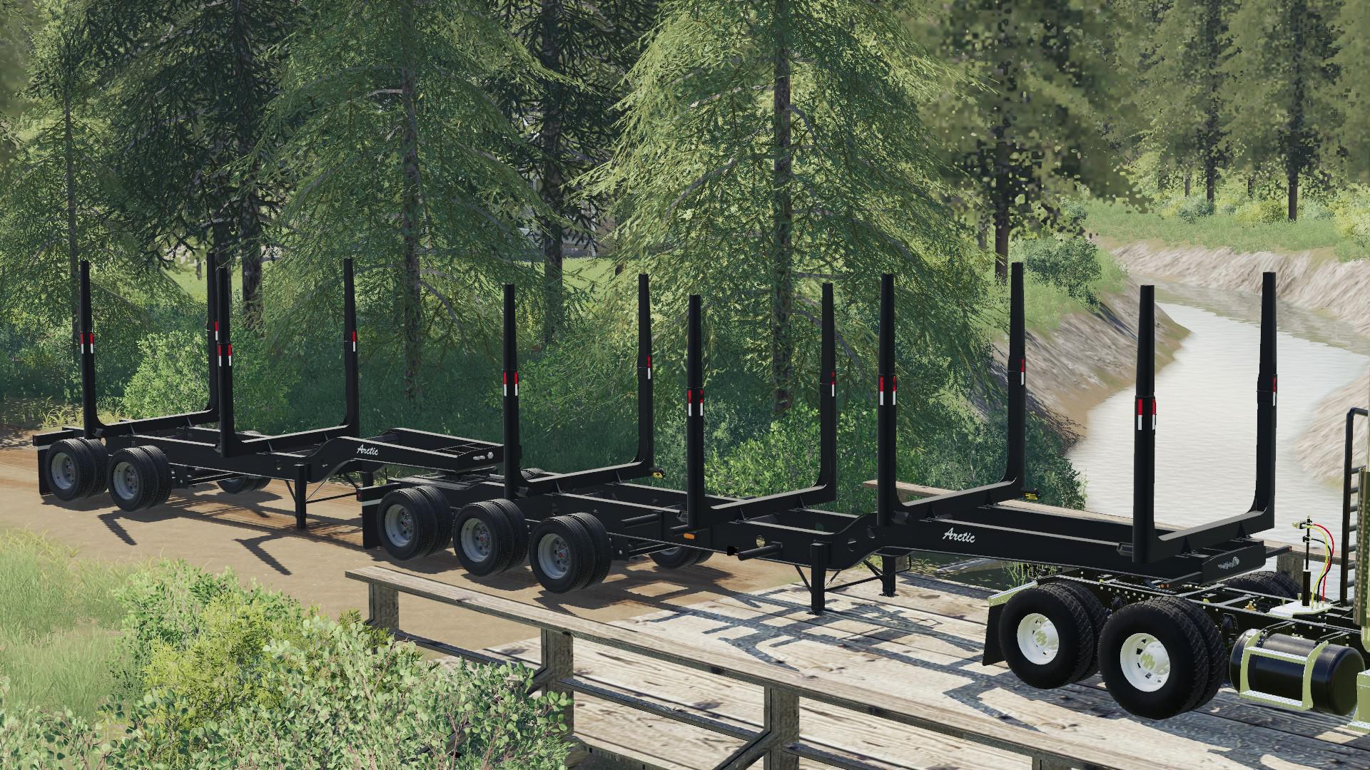 FS19 - Arctic Log Trailers (Superbs) Fixed V1.1