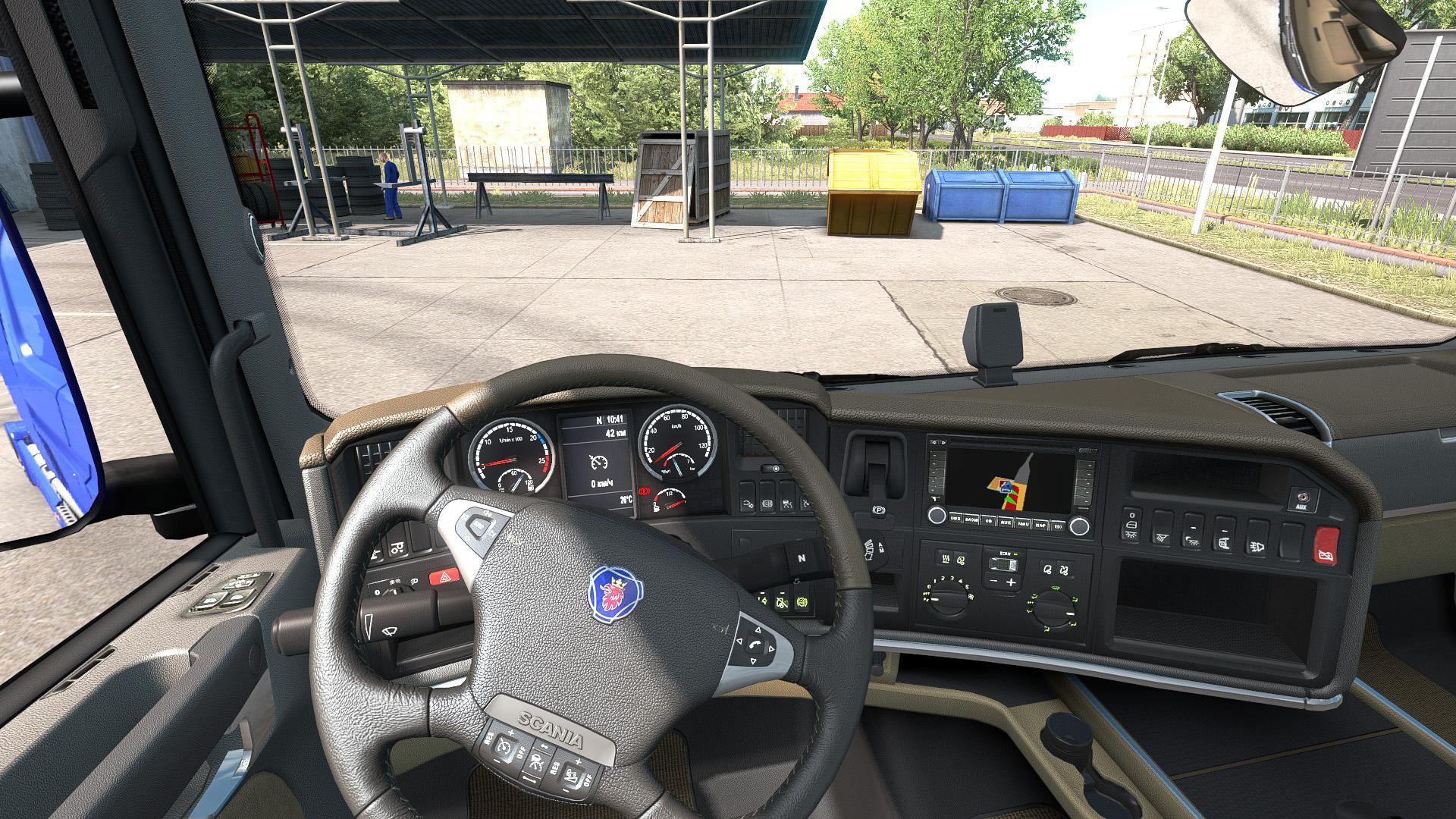ETS2 - Scania 2009 Interior V1.0 (1.36.x)