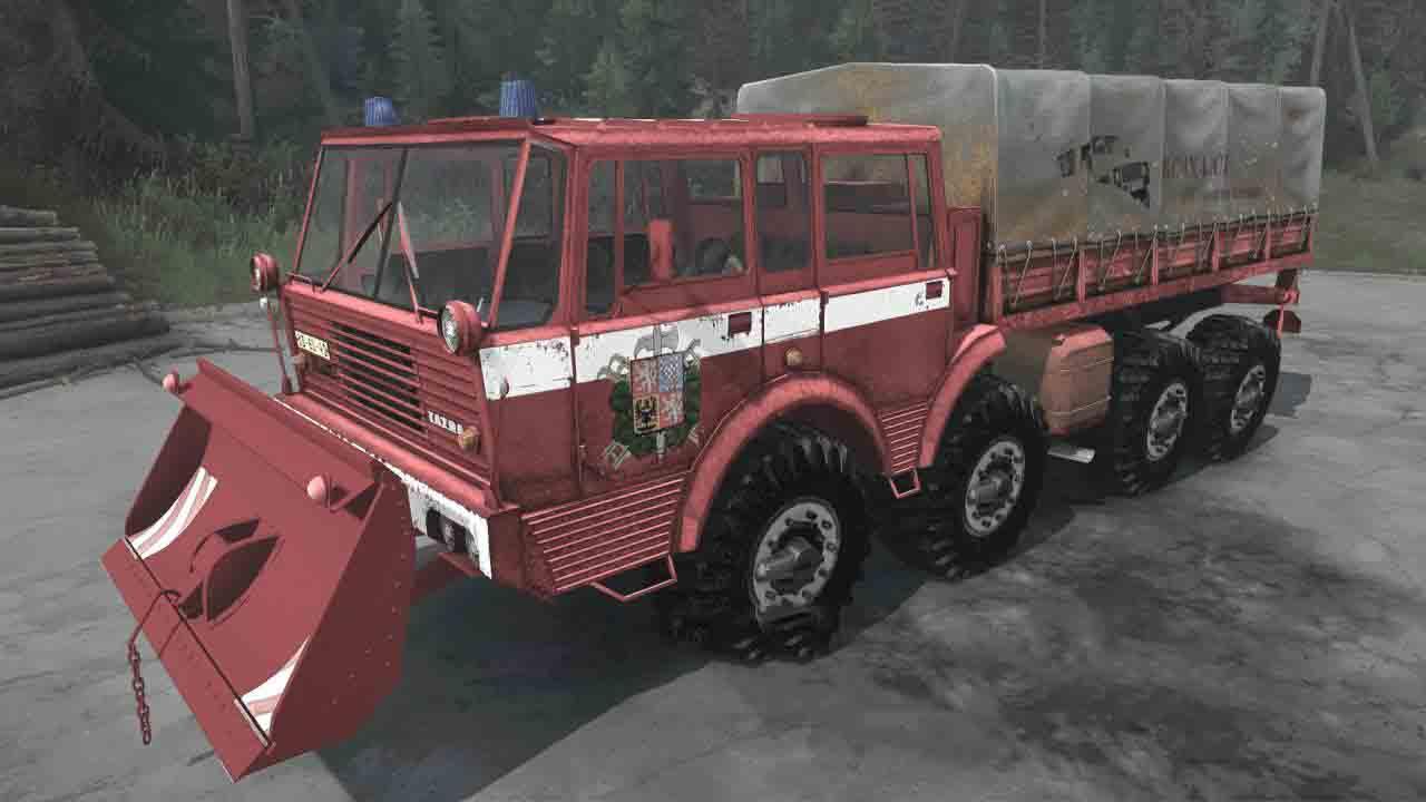 Spintires:Mudrunner - Tatra 813 Pack V05/05/19
