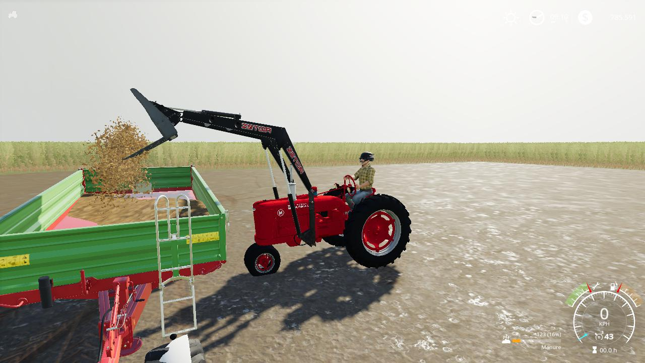 FS19 - Farmall M Tur Console V2.0