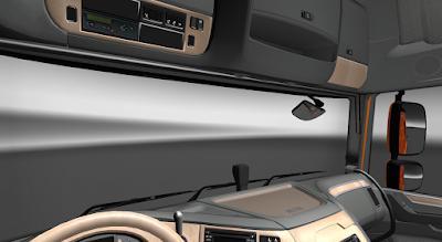ETS2 - DAF XF E6 Beige Interior V1.0 (1.36.X)