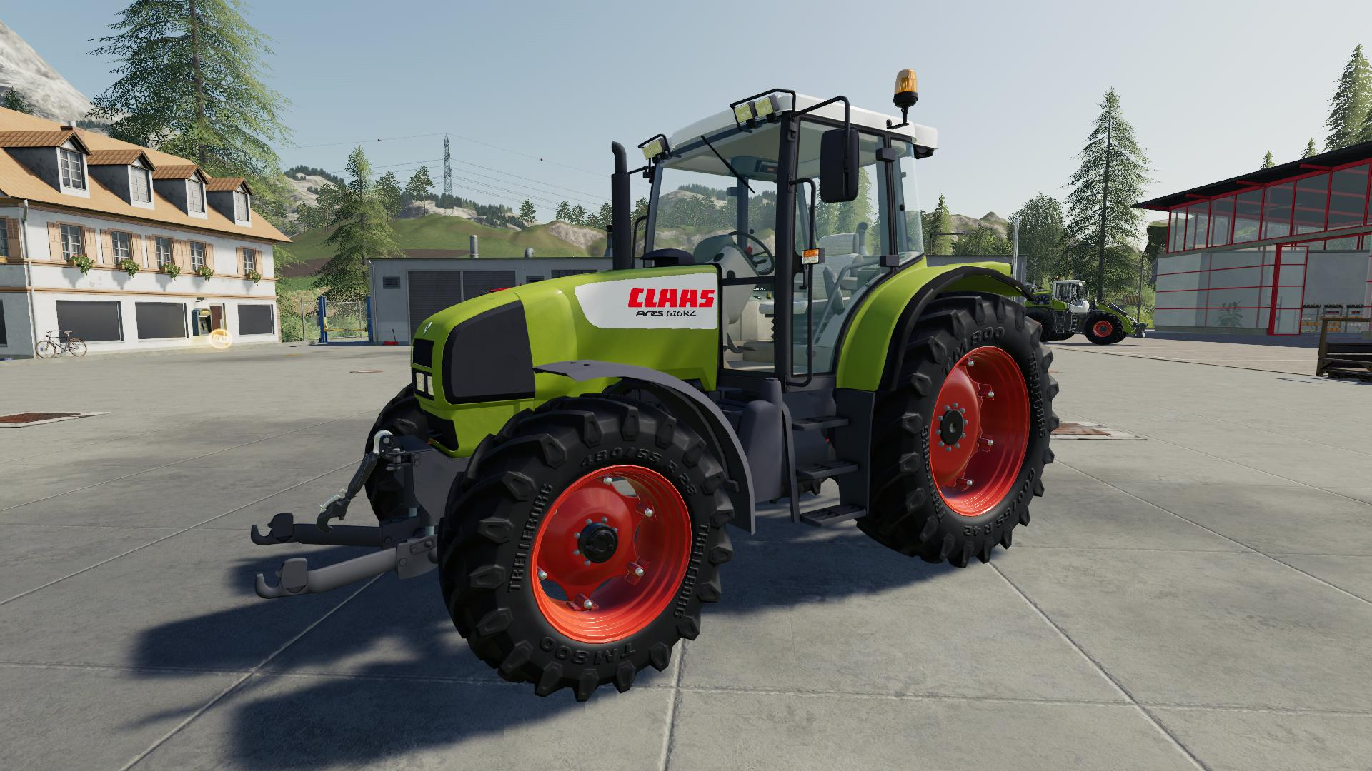 FS19 - Claas Ares 616 RZ Tractor V1.0