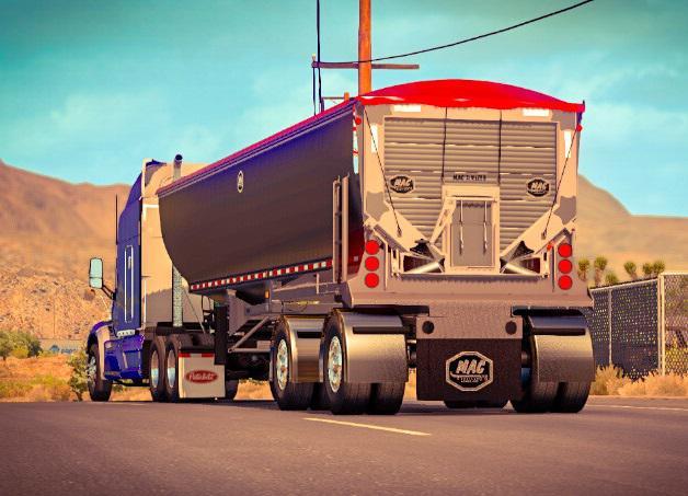ATS - Ownable Dump Truck Mac Simizer (1.39.x)