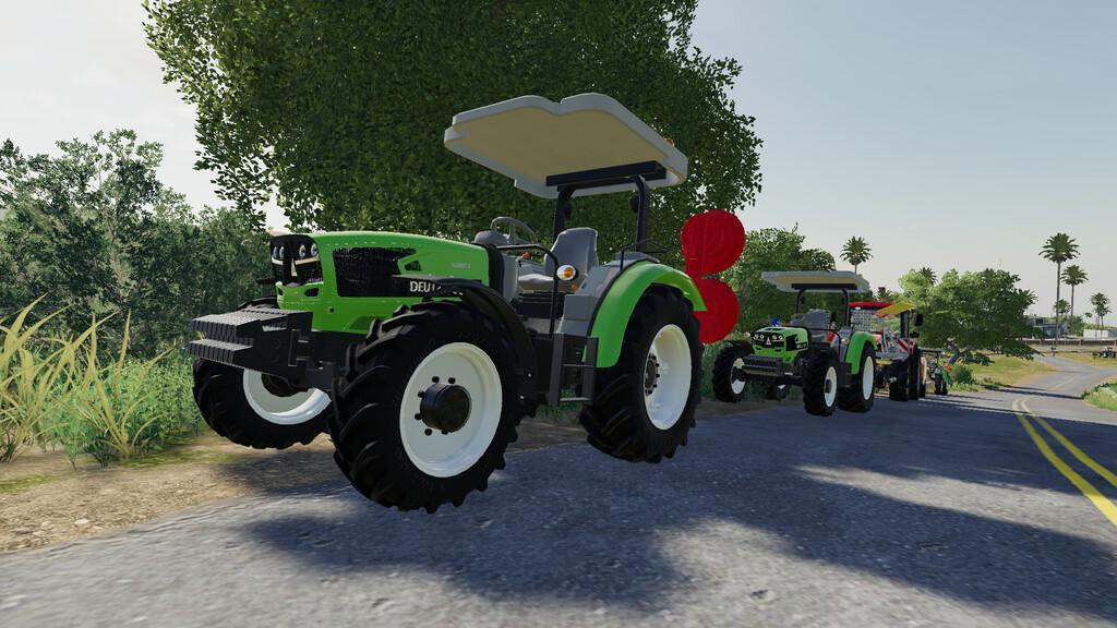 FS19 - Deutz-Fahr 4080 Tractor V1.0