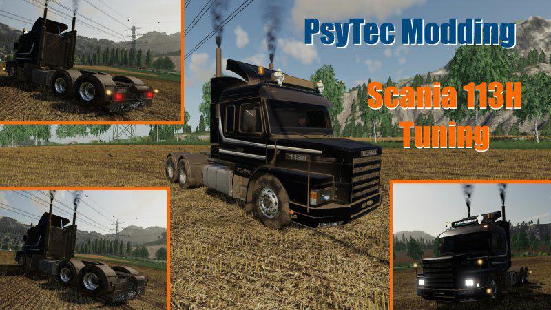 FS19 - Scania 113H Tuning V1.0