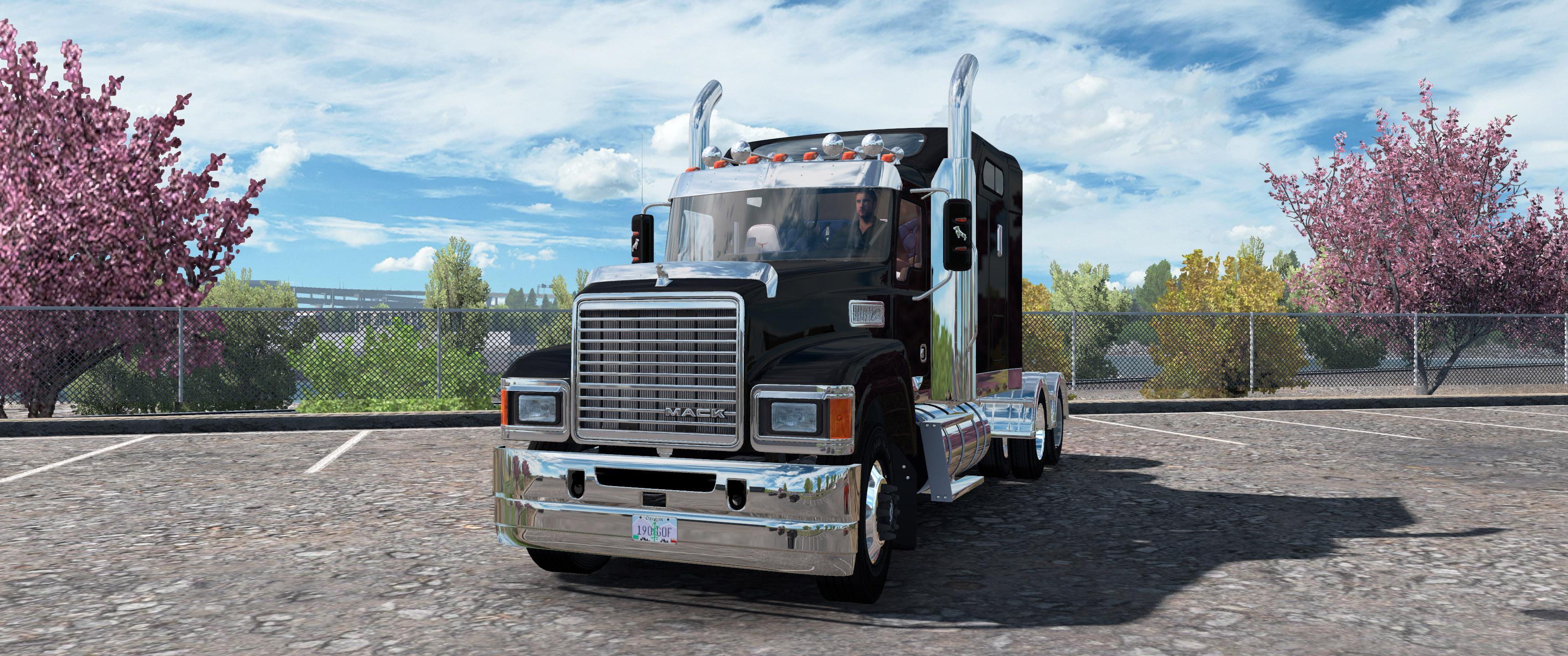 ATS - Mack Pinnacle CHU613 Truck V2.3 (1.37.x)