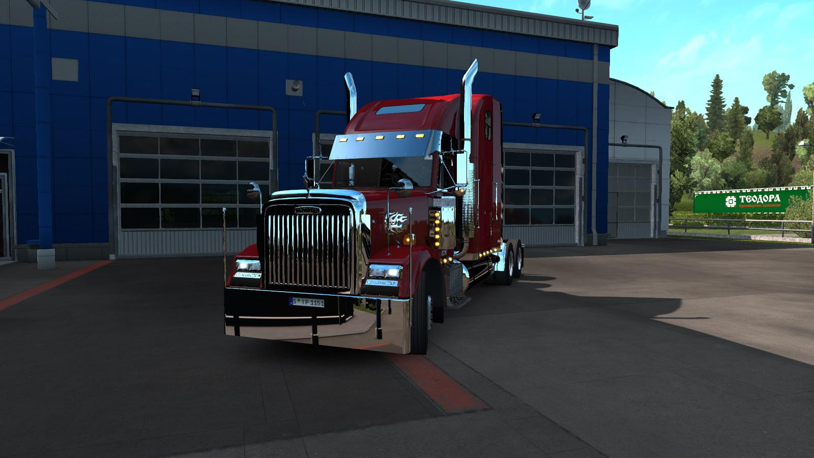 ETS2 - Freightliner Classic XL Fixed (1.36.x)