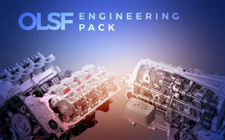 ETS2 - OLSF Engineering Pack 3 (Engine + Dual Clutch Transmission) 1.40.x