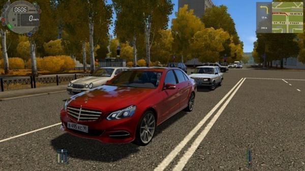 City Car Driving 1.5.9 - Mercedes-Benz E-Class