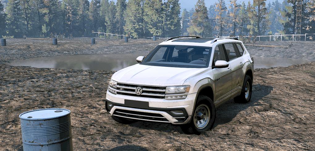 SnowRunner - Volkswagen Atlas R-Line 2017 V1.2