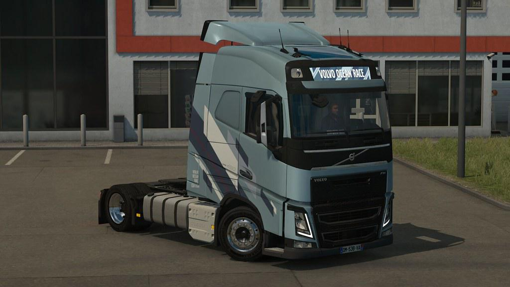 ETS2 - Low Deck Chassis Addon for Eugene Volvo FH V1.4 (1.35.X)