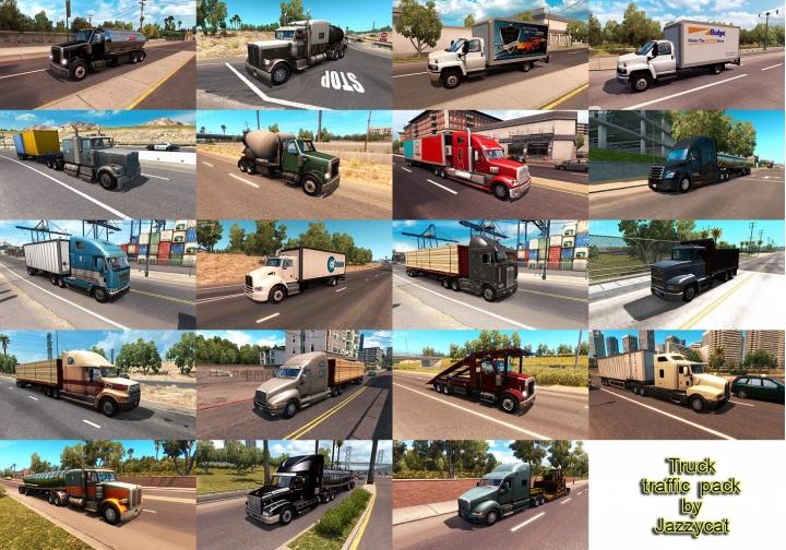 ATS - Truck Traffic Pack V2.8 (1.41.x)
