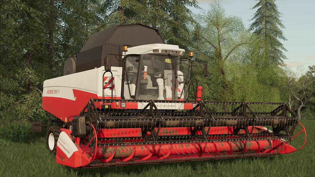 FS19 - Rostselmash Acros 595 Harvester V1.0
