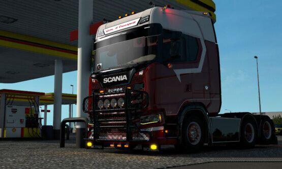 ETS2 - Scania NG Hypro Bullbar V1.0 (1.40.x)