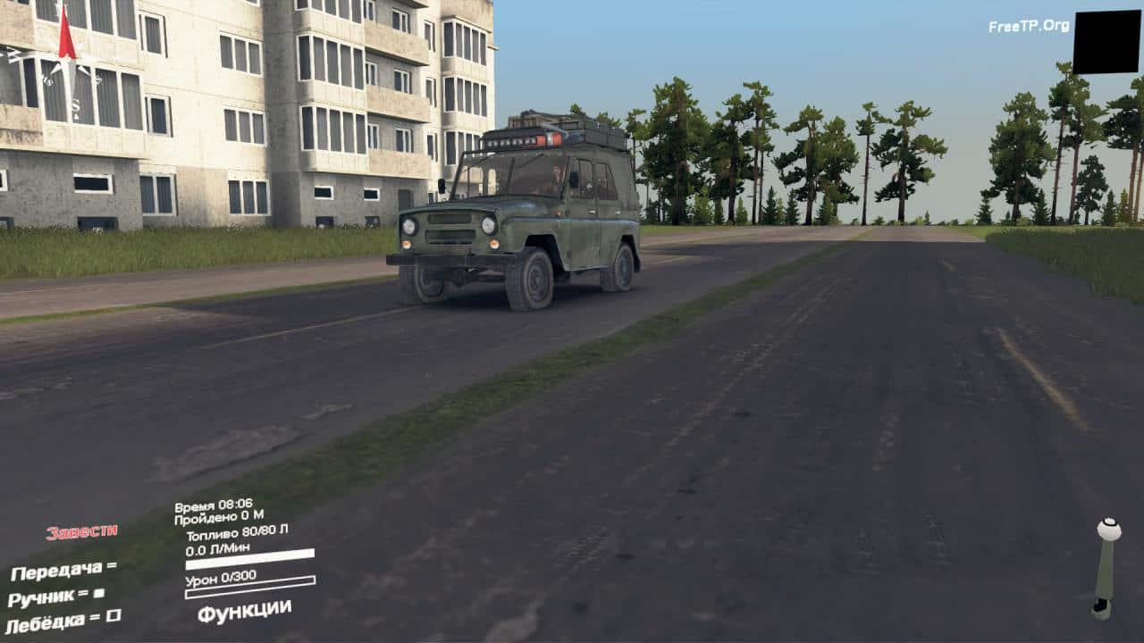 Spintires - Somewhere in Ukraine 2 Map