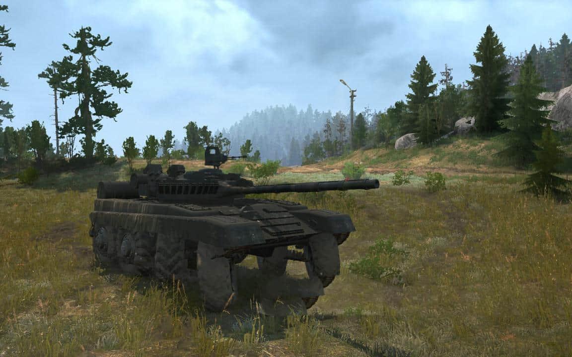 Spintires:Mudrunner - Tank on Wheels V1.0