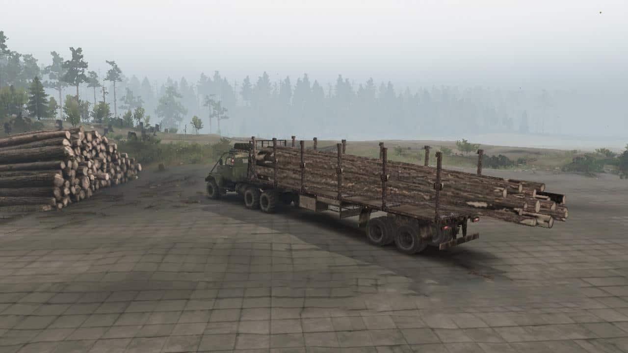 Spintires - Sortimentovoz Trailer V2