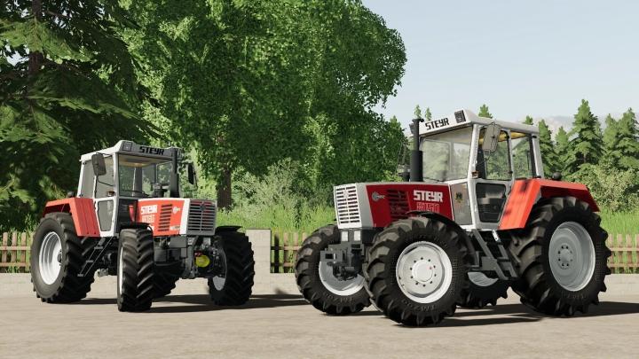 FS19 - Steyr 8150 Tractor V1.1