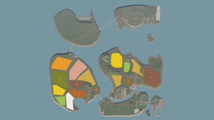 FS19 - Spectacle Island Map V1.1