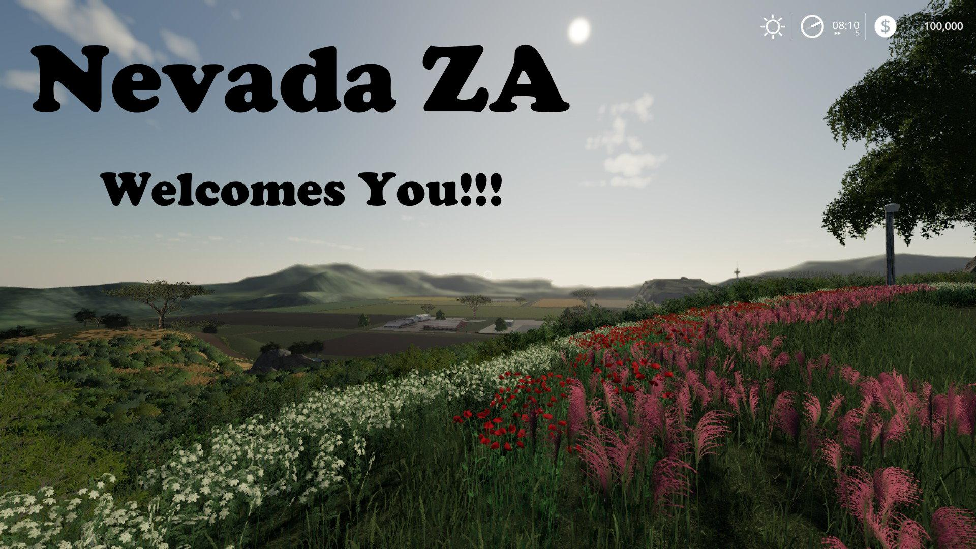 FS19 - Nevada ZA Bond Edition V007