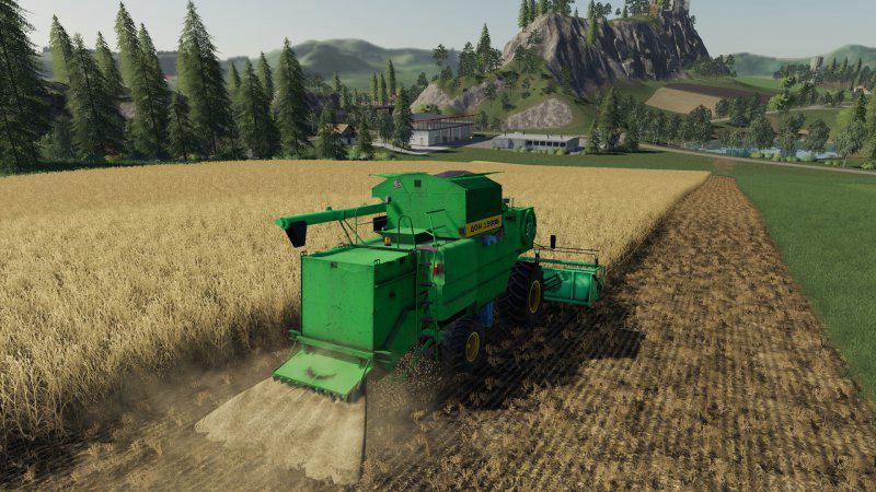 FS19 - Don 1500b Harvester Mod V1.0