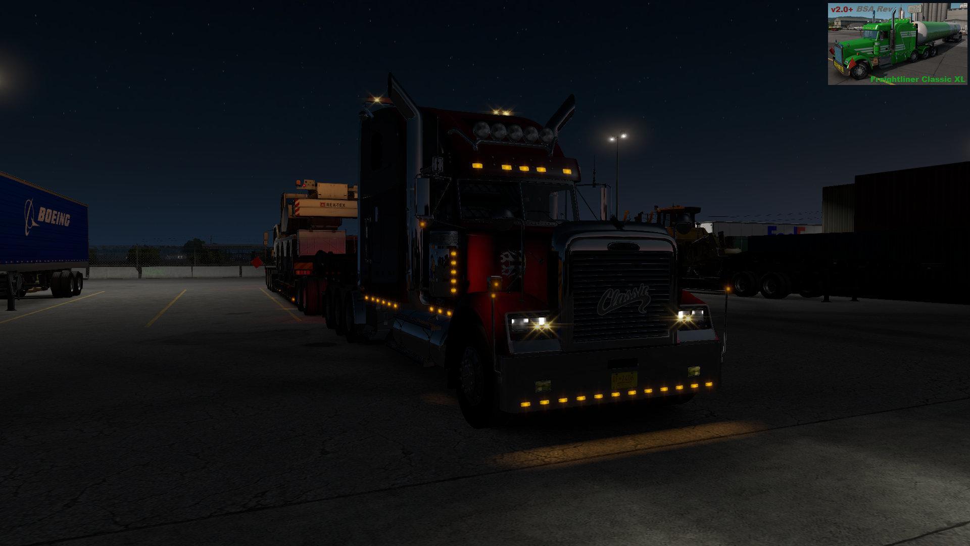 ATS - Freightliner Classic XL Truck V2 + 5/6 BSA Revision (1.36.x)