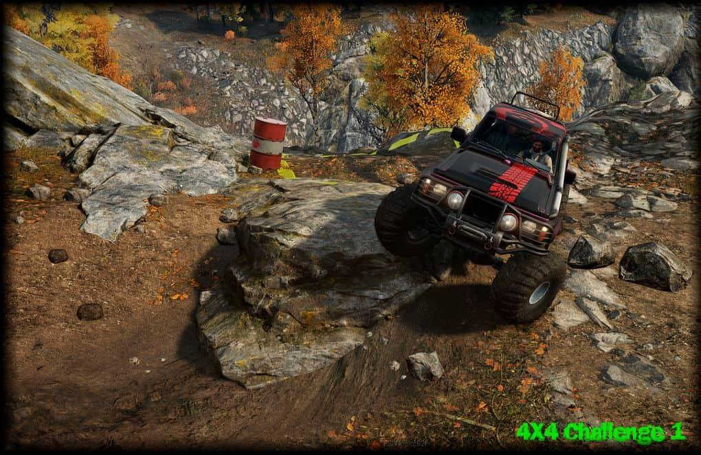 SnowRunner - 4x4 Trail Challenge 1 Map V1.0