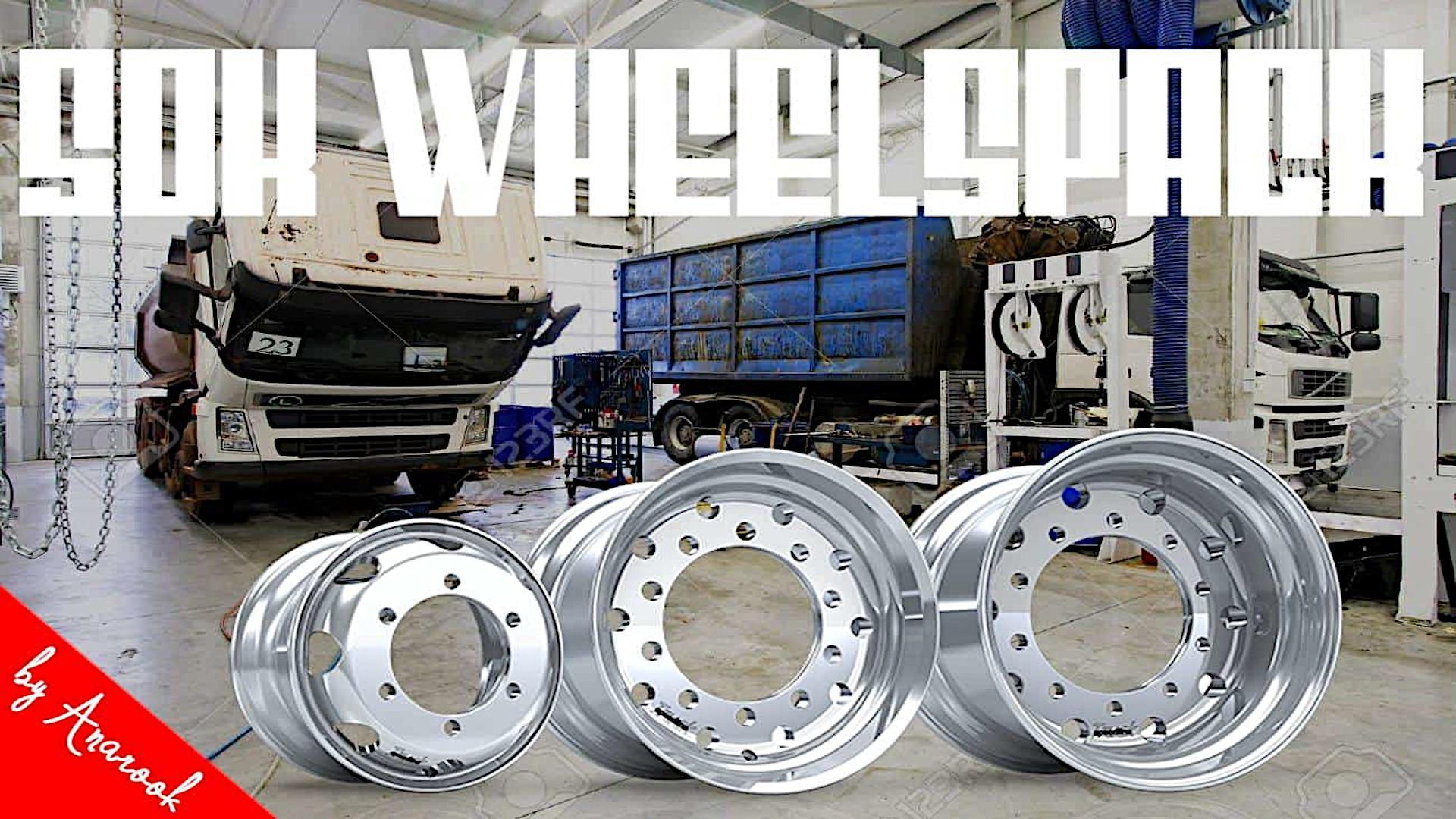 ETS2 - 50k Wheels Pack V2 (1.37.x)