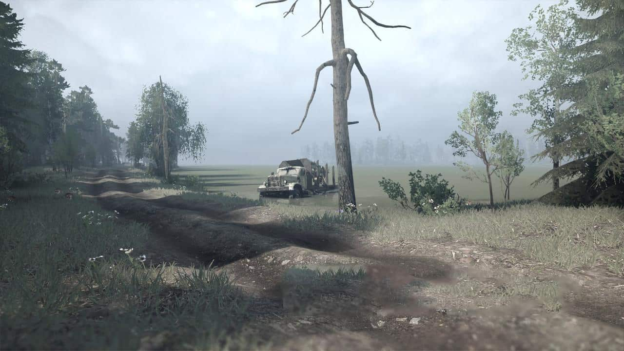 Spintires:Mudrunner - Ledge Mills Map V1.0