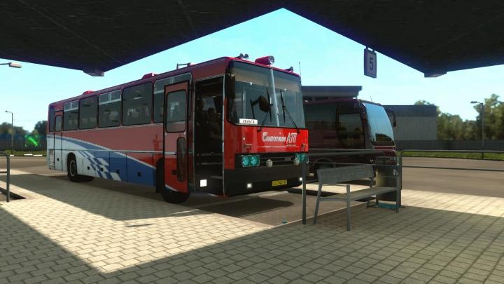ETS2 - Ikarus 250-59 + Passengers V05.05.21 (1.40.x)