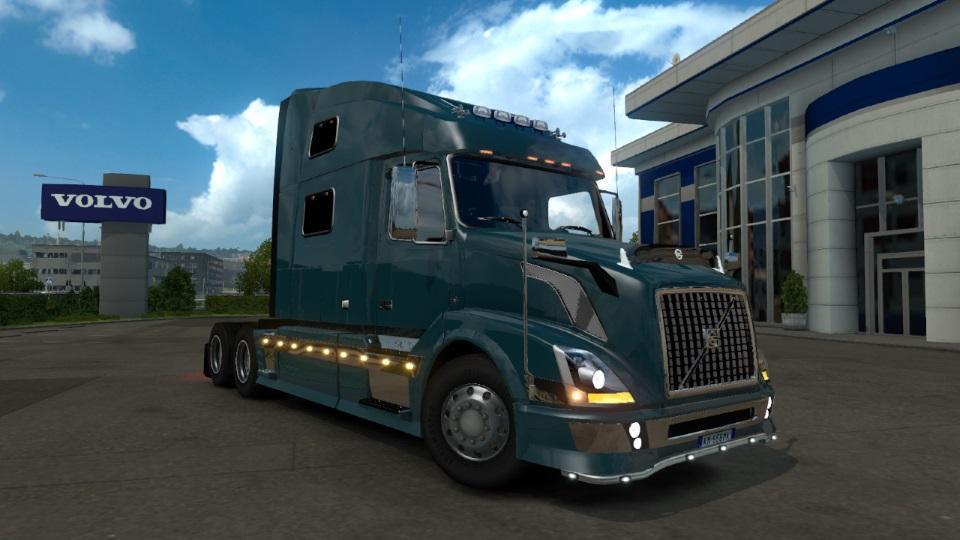ETS2 - Volvo VNL SCS Truck V1.3 (1.38.x)