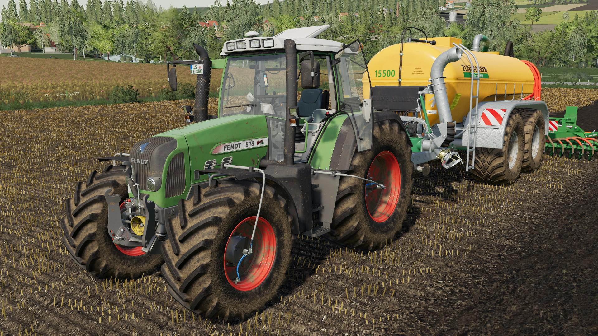 FS19 - Fendt Favorit 700/800 Vario Pack V4.0