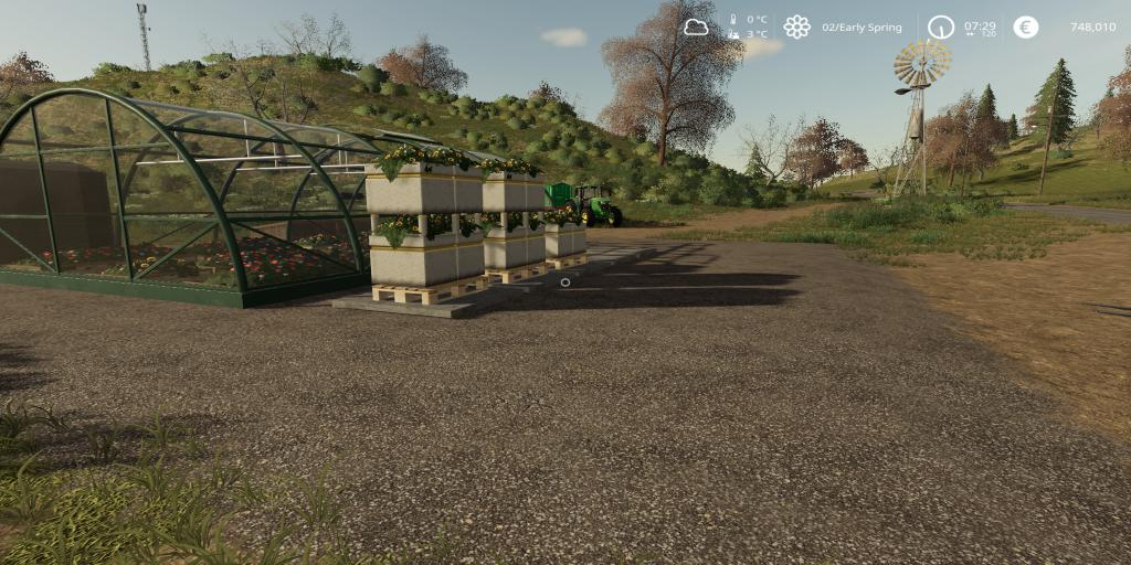 FS19 - Flower Production V1.0