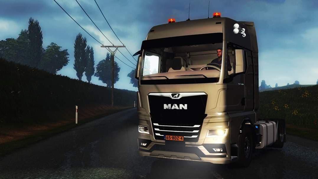 ETS2 - Man Tgx 2020 Truck (1.39.x)