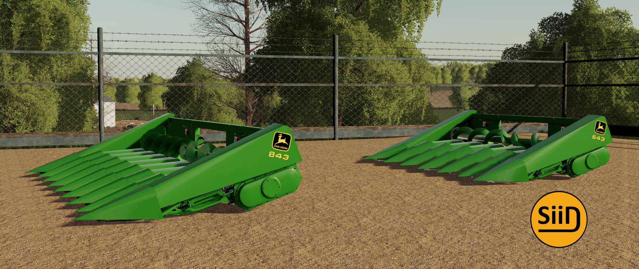 FS19 - John Deere Corn Headers V1