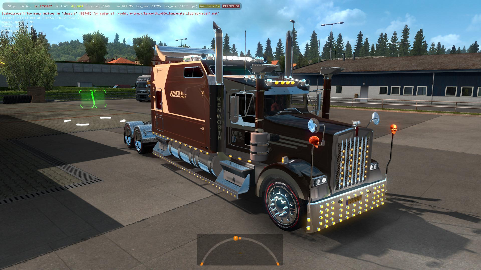 ETS2 - Kenworth W900 Long Truck (1.35.x)