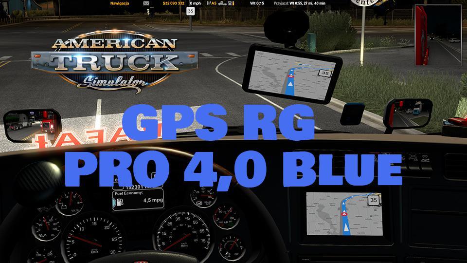 ATS - GPS RG Pro Blue V4 (1.37.x)