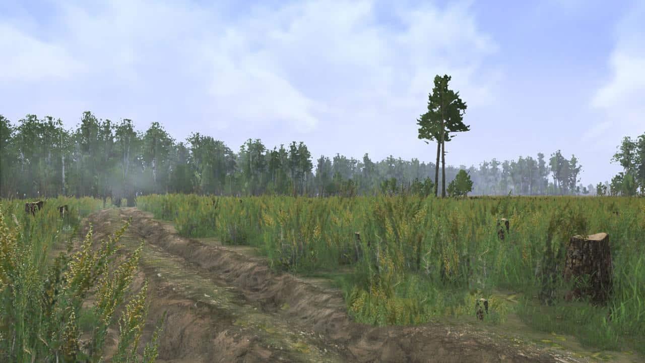 Spintires:Mudrunner - Mud Bath Map V1