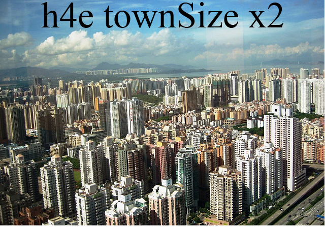 Transport Fever 2 - H4E TownSize X2