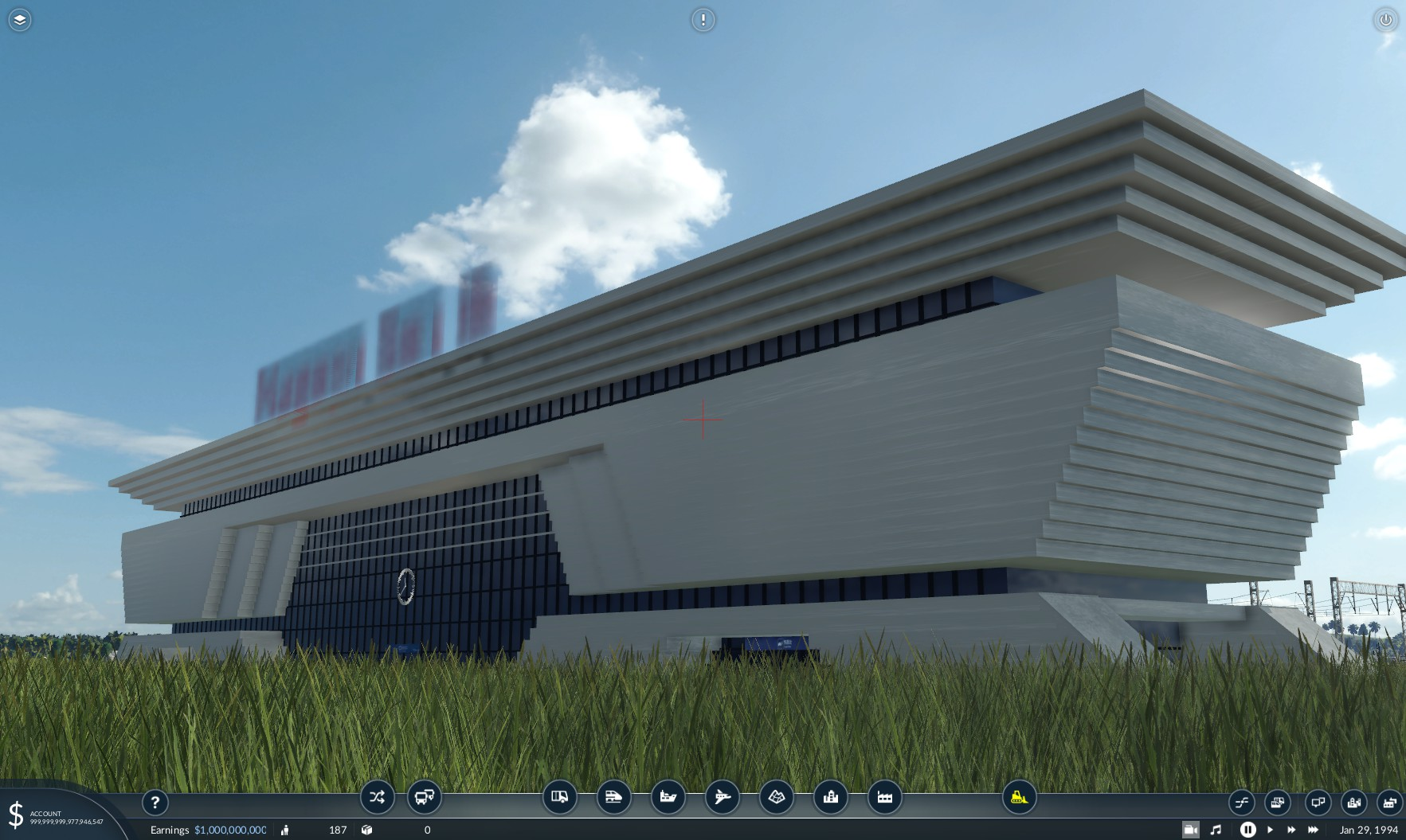 Transport Fever 2 - ReS+No.2 Station Building & Overhead Hall