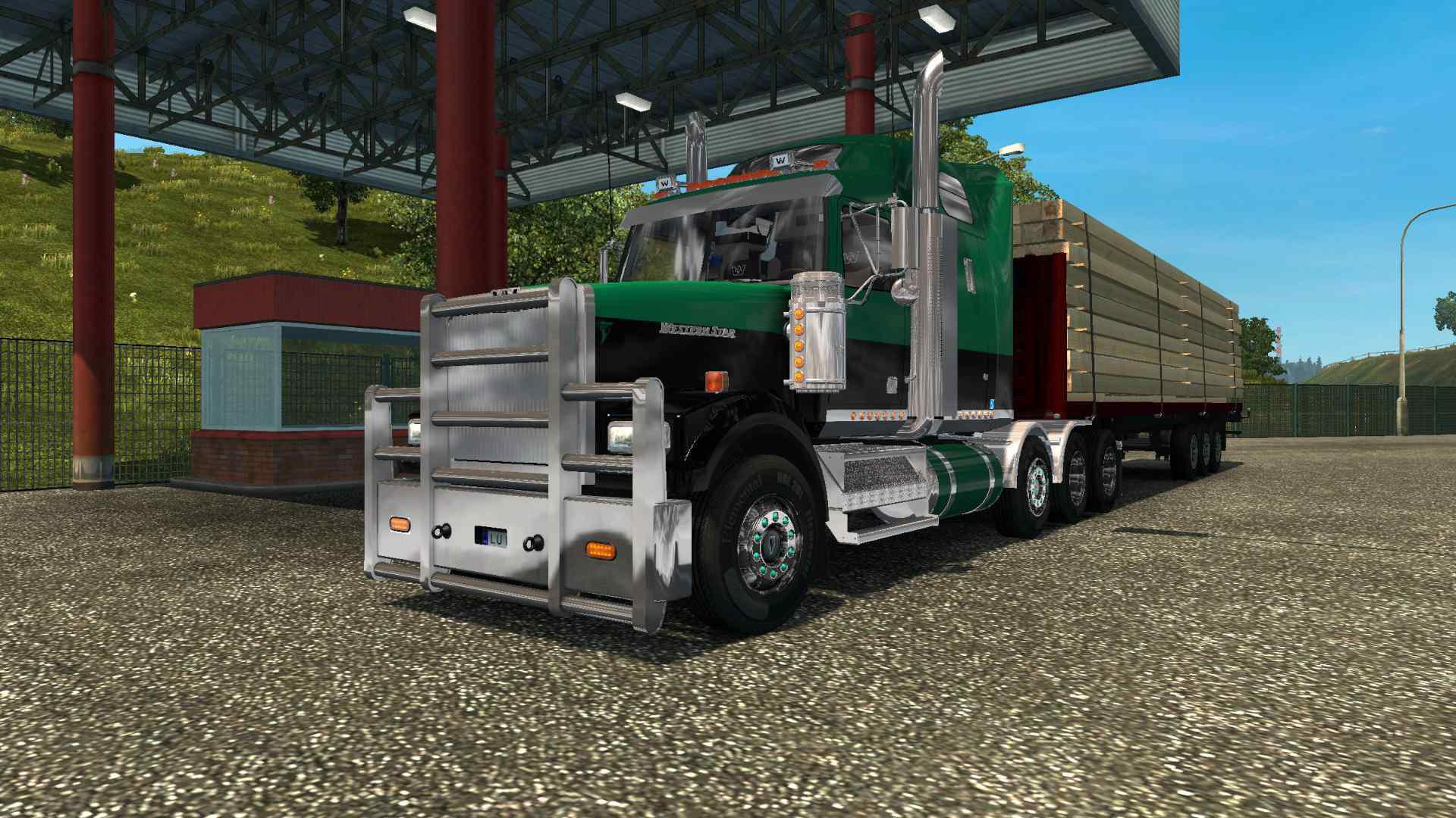 ETS2 - Western Star 4900 FA Truck V3.5 (1.36.x)