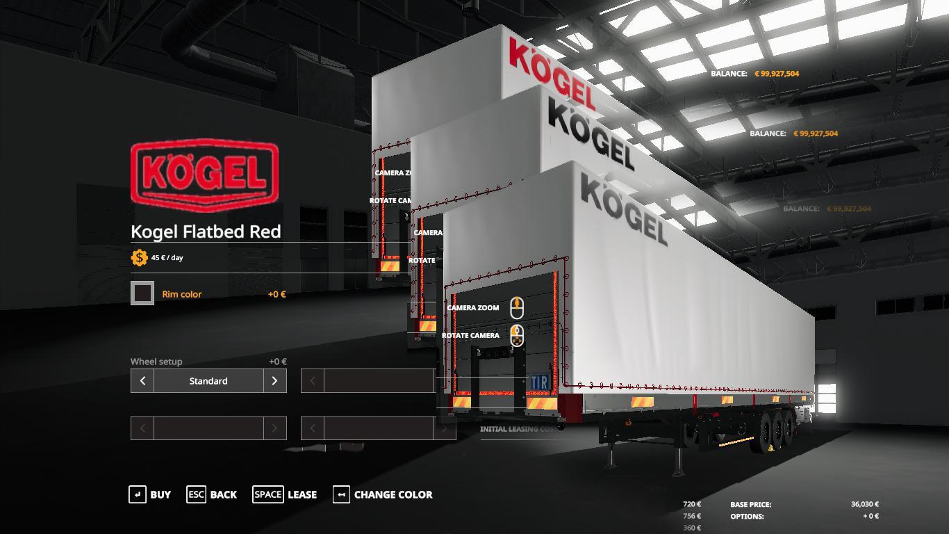 FS19 - Kogel Autoloader Pack 3 Colors Logo V1.1