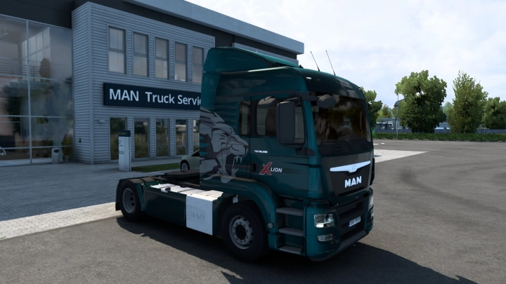 ETS2 - Man TGS V1.2 (MADster) FMod & Open Window 1.40.3
