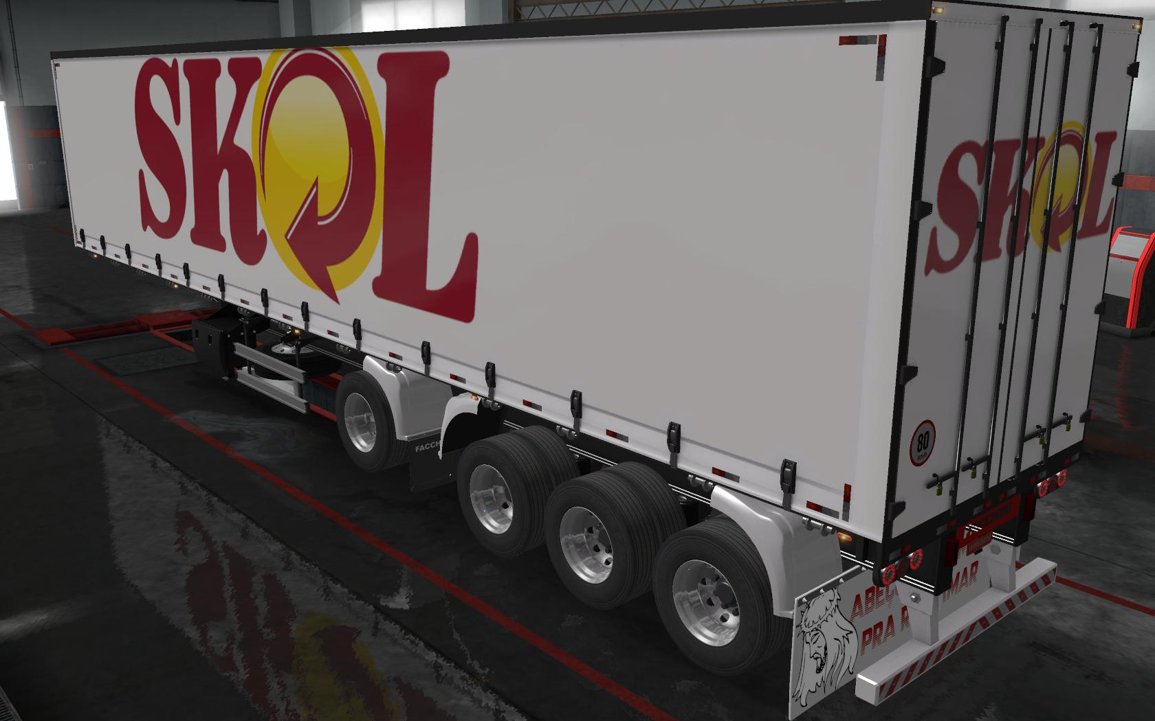 ETS2 - Reboque Sider Facchini By Wpneves Skol Skin (1.36.x)